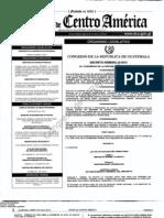 Decreto 10-2012 del Congreso de la República de Guatemala