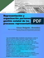 CDG - Gestión representativa de los procesos parlamentarios (PERU, 2012)