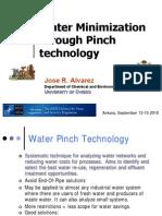 Water Minimization Through Pinch Technology