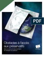 Obstacles à l'accès aux préservatifs