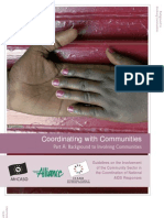 Coordinating With Communities - Book A