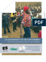 Coordinating With Communities - Spanish - Book B