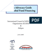 An Advocacy Guide on Global Fund Financing