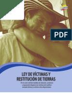 LEY1448 Ley de Victimas y Restitución de Tierras