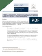 AIDS Advocacy Alert - April 2008