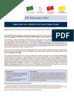AIDS Advocacy Alert - December 2007
