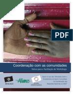 Coordenação com as comunidades - Notas para a Facilitação de Workshops