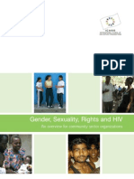 Gender, Sexuality, Rights and HIV
