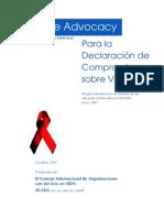 Guía de Advocacy (Promoción/Gestión/Defensa)