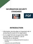 Information Security Standards