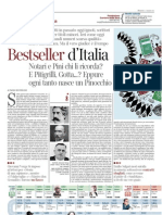 """Best seller, Di Stefano, """"La Lettura"""", 4 marzo 12"""