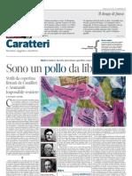 """Blurb, Camurri, """"La Lettura"""", 4 marzo 12"""