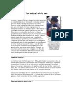 Obiblio Fr 4875 Les Enfants de La Rue
