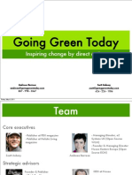 Going Green Today - 05022011