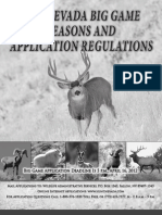2012 Big Game Seasons and Application Guide