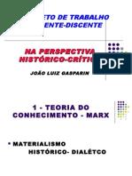 Trabalho docente-discente na perspectiva histórico-crítica - Gasparin