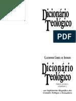 Claudionor Corrêa de Andrade - Dicionário Teológico