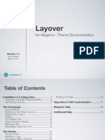 Layover for Magento 1.1