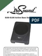 RetroSound SUB8100