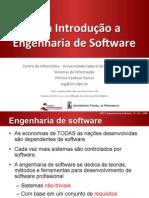 Uma Introdução a Engenharia de Software