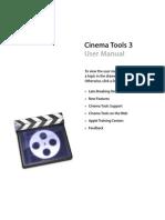 Cinema Tools User Manual