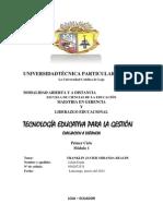 PREGUNTA Nº2 TECNOLOGIA EDUCATIVA