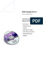 DVD Studio Pro User Manual