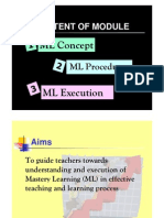 Mastery Learning [Compatibility Mode]