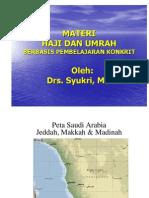 Materi Haji dan Umrah Berbasis Pembelajaran Konkrit