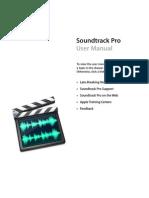 Soundtrack Pro User Manual