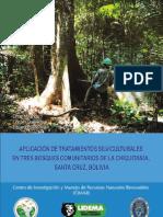 Aplicación de tratamientos silviculturales - Miranda, Quevedo, Sandóval. 2011