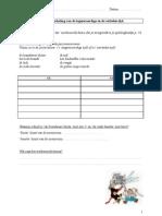 Spelling - Werblad voor de zwakke leerlingen