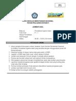 Soal Latihan Ujian Nasional Pendidikan Agama Islam 1-50 Februari 2011 ( PAKET 1 )