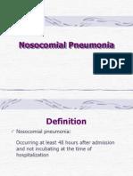 Nosocomial Pneumonia Sid