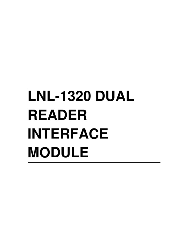 1509107234 lnl 1320 installation guide access control electrical connector LnL 2000 Controller Diagram at gsmx.co