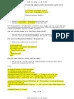 QTP82 FAQ Tips Tricks