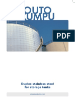 Duplex Stainless Steel for Storage Tanks