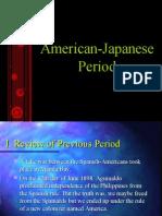 American Japanese Period