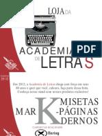 Catálogo - Produtos/2012