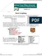 Graphing Calculator - Basic Graphing Skills