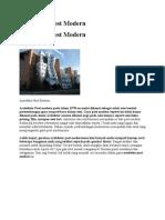 Bhan Arsitektur Post Modern