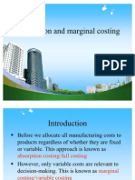Absorption and Marginal Costing PPT @ BEC DOMS BAGALKOT