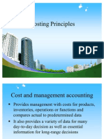Costing Principles @ MBA FINANCE