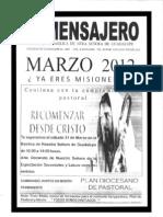 El Mensajero Marzo 2012