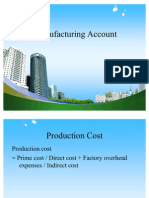 Manufacturing Account PPT @ MBA FINANCE