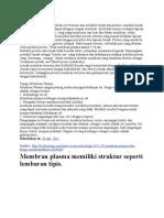 Membran Plasma