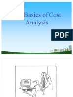 The Basics of Cost Analysis PPT @ MBA