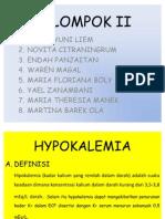 KELOMPOK II hypokalemia
