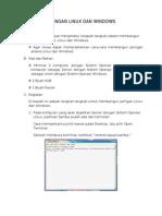 Jaringan Linux Dan Windows