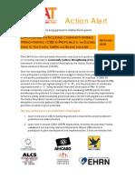 CSAT Action Alert - September 2009